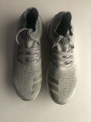 1e9ed7991 Adidas Ultra Boost Uncaged Clear Grey Running Shoes Primeknit BB4489 Size 11