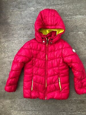 new arrival a3c52 a259c WINTERJACKE MÄDCHEN EAT ants by Sanetta Gr. 116 in pink mit Kapuze
