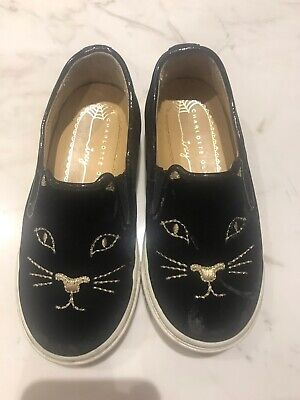 Charlotte Olympia Incy Kitty Kids Shoes 26