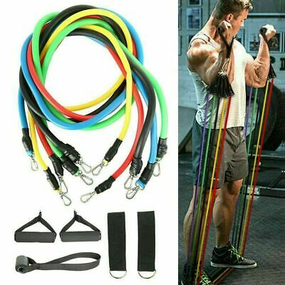NEW Resistance Bands Exercise Loop Crossfit Strength Weight Training Fitness5pcs