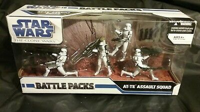 Star Wars The Clone Wars Legacy Battle Packs AT-TE Assault Squad Clone Troopers