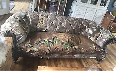 Victorian Horsehair Chesterfield Sofa