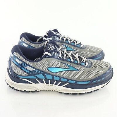 2a23f927c8b Brooks Dyad 8 Mens Size 10 Extra Wide 2E EE Blue Silver Running Walking