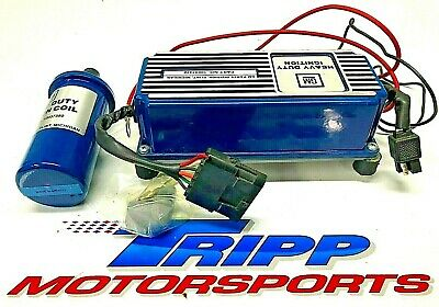 NOS GM MSD Electronic Ignition Box 10037378 with Coil NASCAR