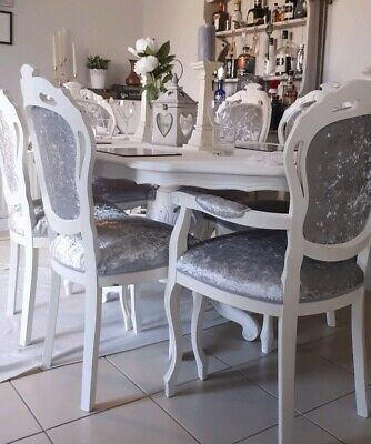 Fantastic Shabby Chic Table And Chairs Italian Louis Dining Kitchen Farmhouse French Download Free Architecture Designs Scobabritishbridgeorg