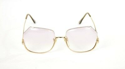 c759e6b79a TURA 425 Vintage Gold Purple Oversized Eyeglass Frames Glasses 54 20 140  Japan