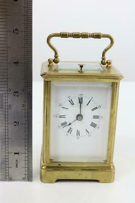 RARE SMALL STRIKE REPEATER CARRIAGE CLOCK by L.F. PARIS for restoration