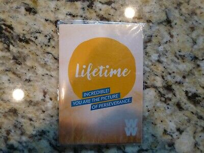"WEIGHT WATCHERS FREESTYLE ""LIFETIME"" CHARM Brand New in package"