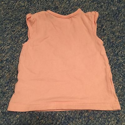 M&Co Baby girls pink t-shirt top 3-6 Months Clothes - combine postage & save