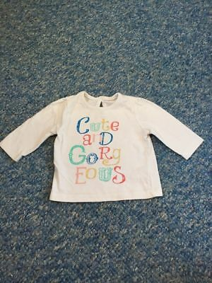 White cute & gorgeous long sleeved top baby girls newborn clothes