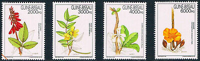 $6.50 Value - GUINEA-BISSAU 1994 FLOWERS - Stamp Sale MNH NH Combined Shipping