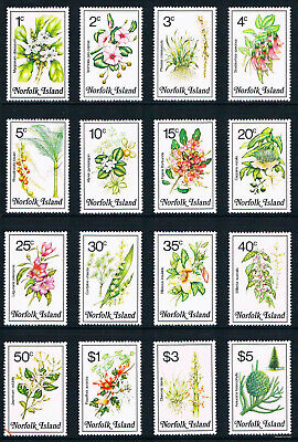 $14.10 Value - NORFOLK ISL. 1984 FLOWERS - Stamp Sale MNH NH Combined Shipping