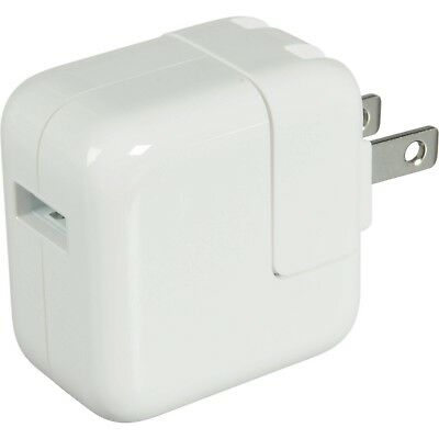 Genuine Apple iPad iPhone 12W USB Power Adapter Wall Charger A1401 *Brand New*