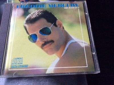 Freddie Mercury cd mr bad guy Colombia records