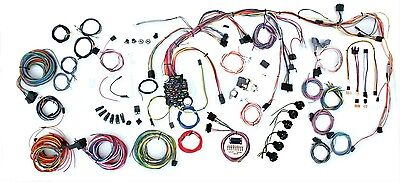 1968 Chevrolet Nova American Autowire Classic Update Wiring Harness 510201