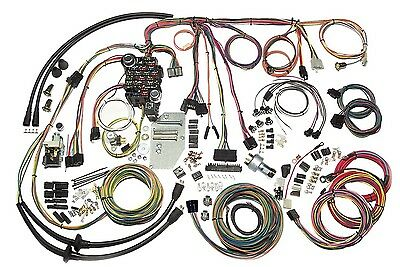 1955-56 Chevrolet Bel Air Full Size American Autowire Wiring Harness 500423