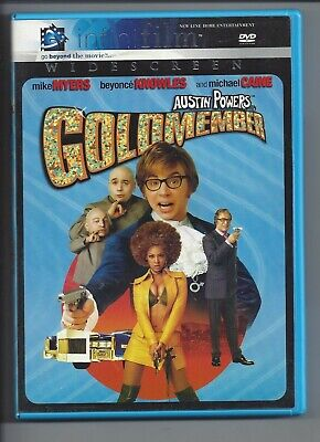 Austin Powers Goldmember Widescreen Mike Myers Beyonce Knowles Michael Caine