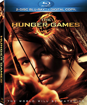 The Hunger Games (Blu-ray Disc, 2012, 2-Disc Set Includes Slipcover)