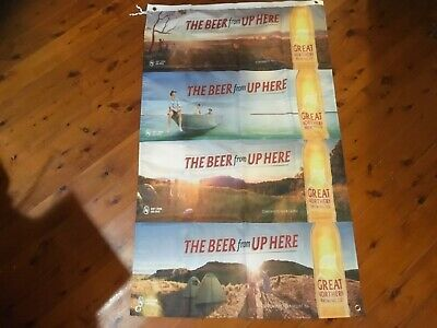 Great northern brewing co man cave flag Banner Poster pool room mancave sign