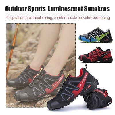 Men's Running Shoes Speed 3 Athletic Outdoor Sports Hiking Sneakers W0