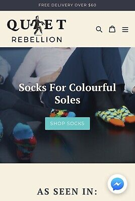 Online Business For Sale - Quiet Rebellion Australia