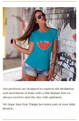 Great online business - Fruit Thing - Print On Demand Store can be run from home
