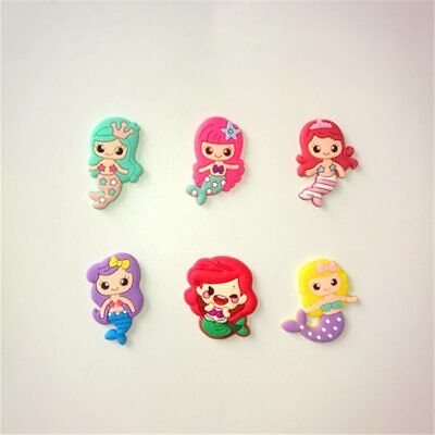 20pcs/lot Cute mermaid cartoon flatback DIY hair bow accessories shower