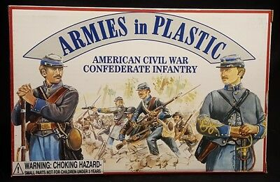 Armies in Plastic American Civil War Confederate Infantry
