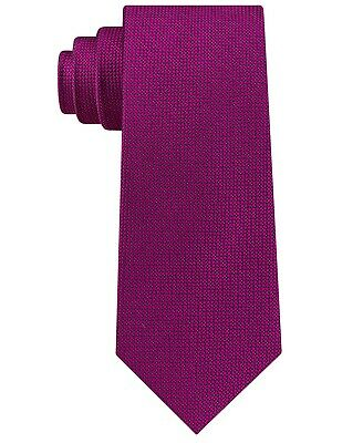 Club Room NEW Fuchsia Pink Men's One Size Wyatt Nonsolid Silk Neck Tie $52 310