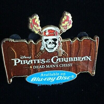 Pirates Of The Caribbean Dead Mans Chest Skull Ride DLR new Disneyland Pin Pins