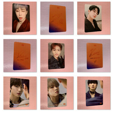 SF9 Official PHOTOCARD 6th Mini Album NARCISSUS Photo Card Only Temptation Ver.