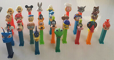 28 Pez Dispensers with feet