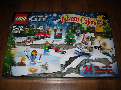 LEGO City Town 60099 Advent Calendar 2015 Germany Factory Sealed