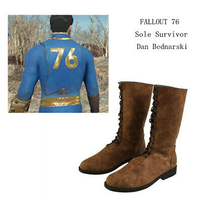 57282ac3dca FALLOUT 4 COSPLAY Boots Dan Bednarski Shoes Sole Survivor of Vault ...
