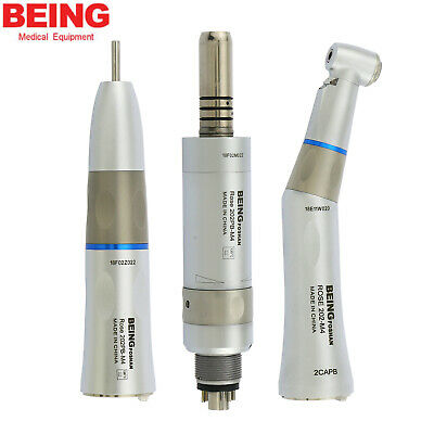 BEING Dental LED Fiber Optic Contra Angle Straight Air Motor Handpiece KAVO NSK