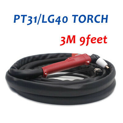 PT31 LG40 Air Plasma Cutter Torch Gun Completed 3M 10Feet Fit CUT50D CUT50 CT312