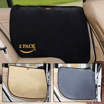 US Waterproof Dog Car Seat Cover for Cat Pet Van Back Rear Seat Door Protector