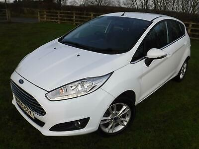 2016 Ford Fiesta 1.25 82ps E6 Zetec 5 door only 19685 miles FULL FORD HISTORY