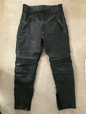 Frank Thomas Leather Trousers, Mens, Size 32, Used