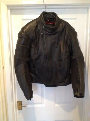 "Hein Gericke, Leather Motorbike Jacket, Size 54, UK Equivalent 44"" Chest, VGC"