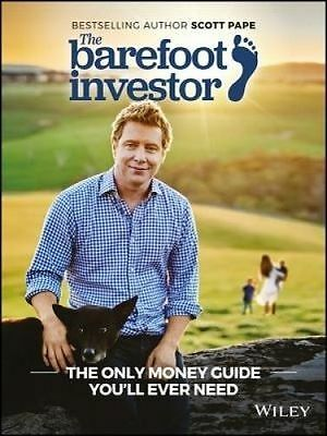 NEW The Barefoot Investor 2018 by Scott Pape Paperback (Free Shipping)