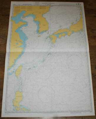 Nautical Chart No. 4509 Pacific Ocean, W Portion of Japan. Korea, China etc