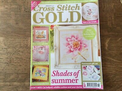 Cross Stitch Gold Magazine - Issue 111 - Very Good Used Condition