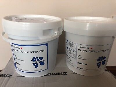 Dental lab putty Zetalabor platinum 85 Touch 4.3 kg base+4.3kgcatalyst Zhermack