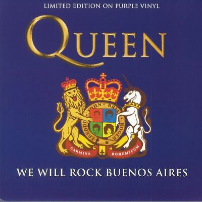 QUEEN - We Will Rock Buenos Aires (purple Vynil)