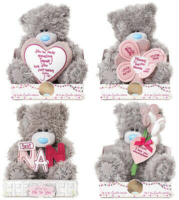 Me to You Mothers Day Tatty Teddy Bear Mum Nan Mummy Bears