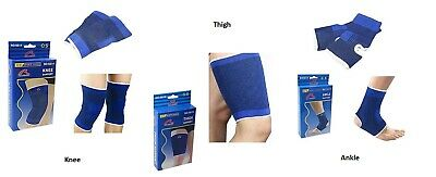 Elasticated Knee Thigh Ankle Support Compression Bandage Brace Wrap Arthritis