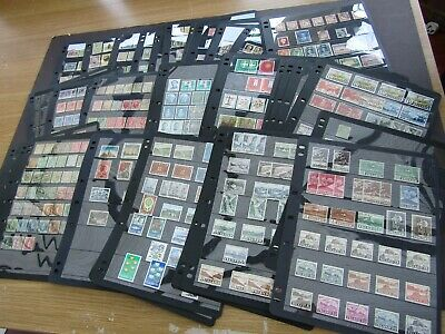 EXTENSIVE VINTAGE EUROPE COLLECTION ON 80+ A4 HAGNER STOCKSHEETS - SEV 1000's