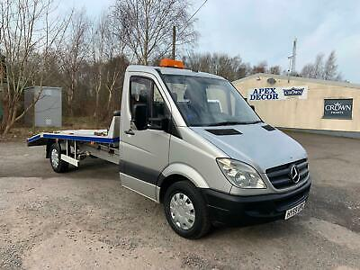 2009 Mercedes Sprinter 311 Cdi 16Ft Alloy Car Transporter Recovery Truck A/C