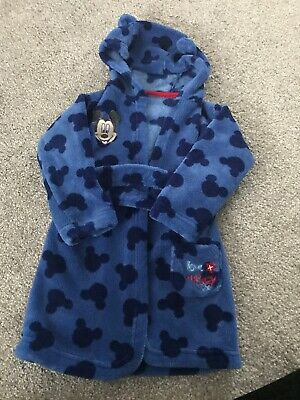 Mickey Mouse Blue Dressing Gown